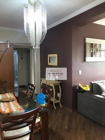 Imagem 1 de 14 de Apartamento À Venda, 90 M² Por R$ 390.000,00 - Vila Galvão - Guarulhos/sp - Ap2406