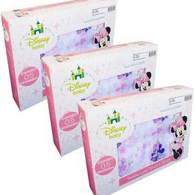 Fralda De Pano Disney Baby Minnie - 3 Cxs
