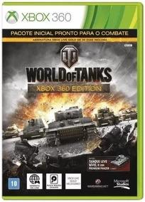 Jogo World Of Tanks Lacrado Xbox 360
