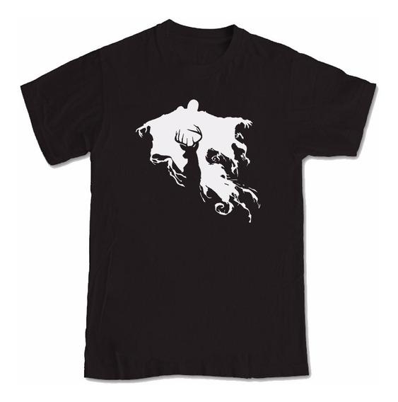 Camiseta Manga Curta Estampada Do Filme Harry Potter
