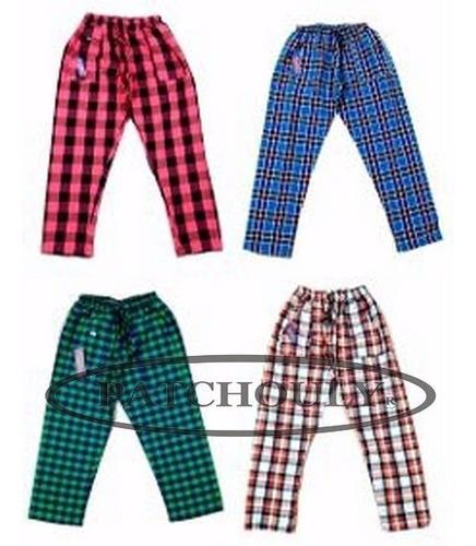 Pantalon Cuadrille De Ninos Unisex De Verano Algodon Mercado Libre