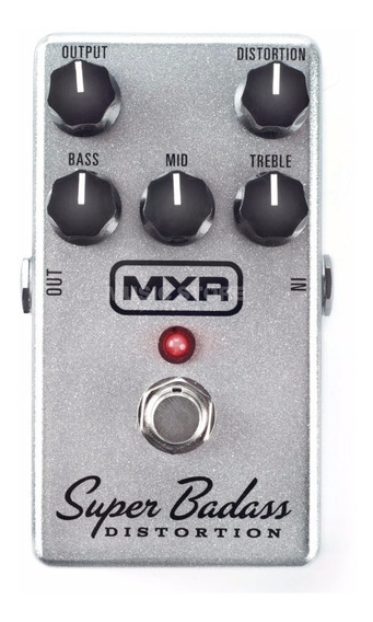 Pedal Mxr M75 Super Badass Distortion C/ Nf-e & Garantia