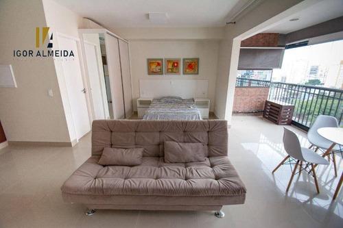 Apartamento Para Alugar, 42 M² Por R$ 2.300,00/mês - Bela Vista - São Paulo/sp - Ap43866