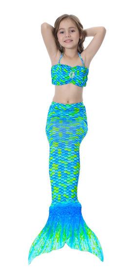 Cauda De Seria Com Biquini Infantil 01 (sem Nadadeira)