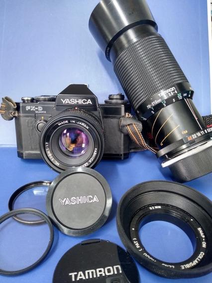 Camera Fotografia Analógica Yashica Fxd