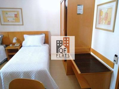 Flat Com 1 Dormitório Para Alugar, 41 M² Por R$ 2.300/mês - Jardins - São Paulo/sp - Fl0392