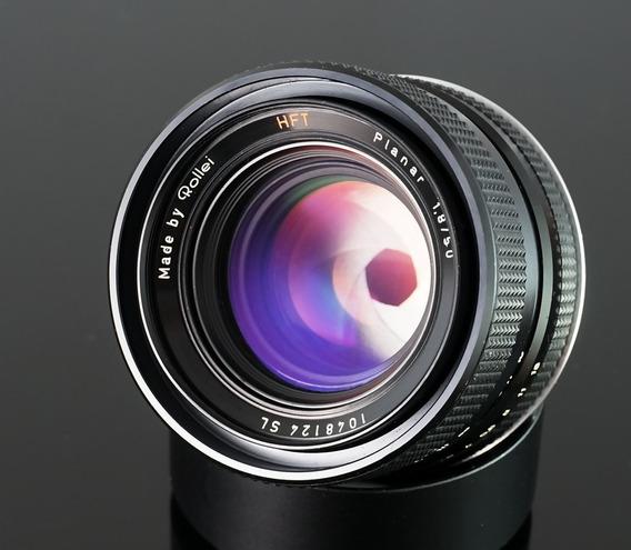 Lente Rollei Planar Hft\zeiss, 50mm-mount Canon Ef(fuji\mft)