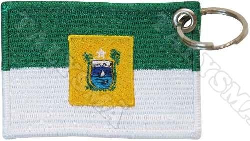 Chaveiro Patch P/ Mochila - Bandeira Rio Grande Do Norte