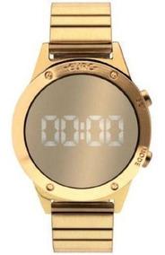Relógio Euro Fit Feminino Digital Dourado Eujhs31bab/4d