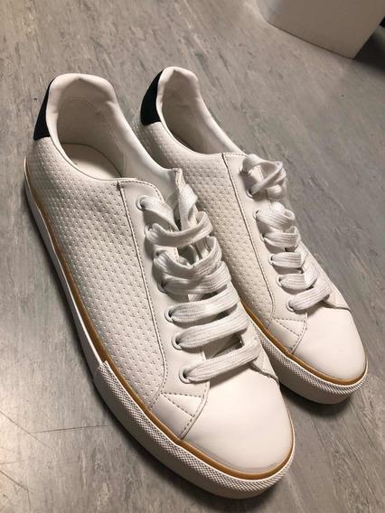 Zapatillas Zara Blancas: Talle 44, Nuevas Sin Uso