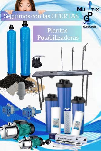 Plantas Potabilizadoras, Filtración Y Purificación De Agua