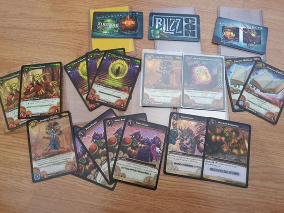 Cards Tcg E Blizzcon World Of Warcraft (wow) - Usadas