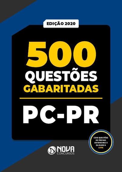 Apostila Caderno De Testes Pc Pr - Polícia Civil Do Paraná