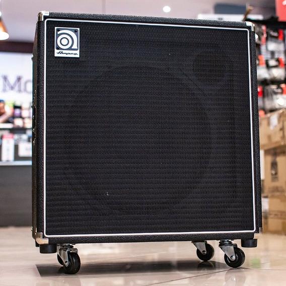 Amplificador Ampeg Combo Para Baixo 220w Ba115 Hp + Nf!
