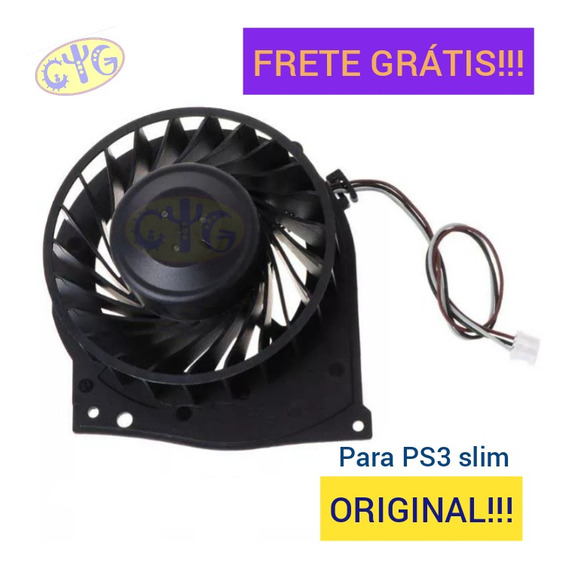 Cooler Sony Playstation 3 Super Slim 100% Original Novo!!!