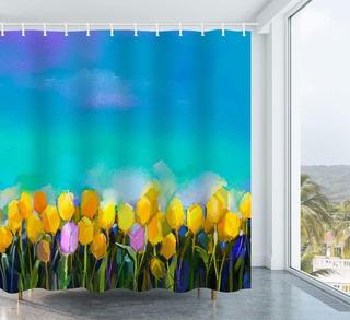 Obtener Flores De Naranja Pintura Al Óleo Tulipanes Flores