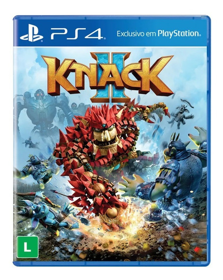 Game Ps4 Knack 2 Pix90