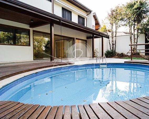 Casa A Venda Em Condomínio Fechado Em Barão Geraldo Em Campinas - Imobiliária Em Campinas - Ca00418 - 4818762
