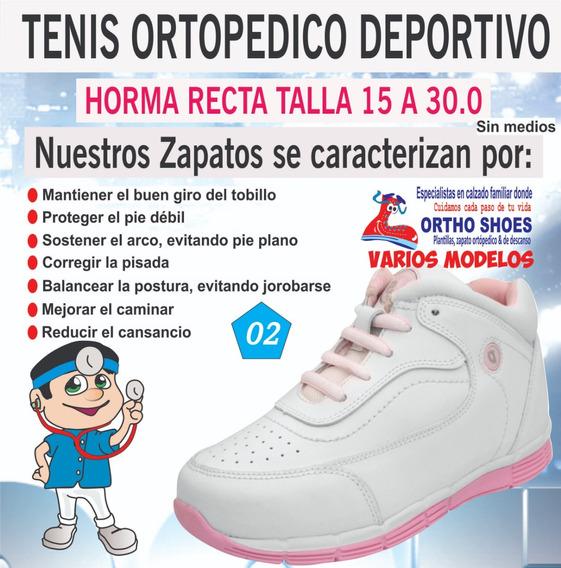 Tenis Ortopédico Deportivo 15 A 30