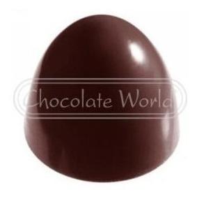 Molde Policarbonato Cw2280 Trufa Americana Chocolate World