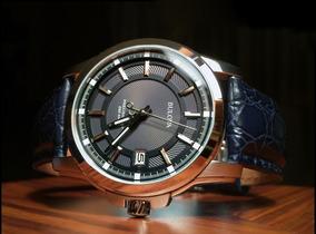Relógio Bulova Masculino Precisionist Preto/couro Original