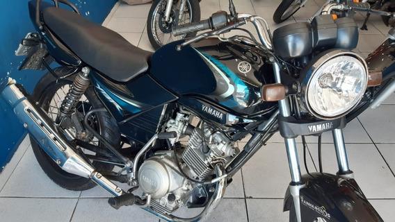Ybr 125 K 2007 12 X 430 Cartão C/ 500 De Entr. Rainha Motos