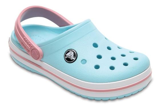 Crocband Clog Kids Ice Blue/white