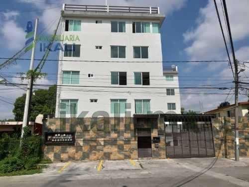 Renta Departamento Amueblado 2 Rec. Col. 27 De Septiembre Poza Rica Veracruz. Modernos Departamentos Con Perfectas Instalaciones Con Estacionamiento Ubicados En Calle Hernan Cortes, Los Departamentos
