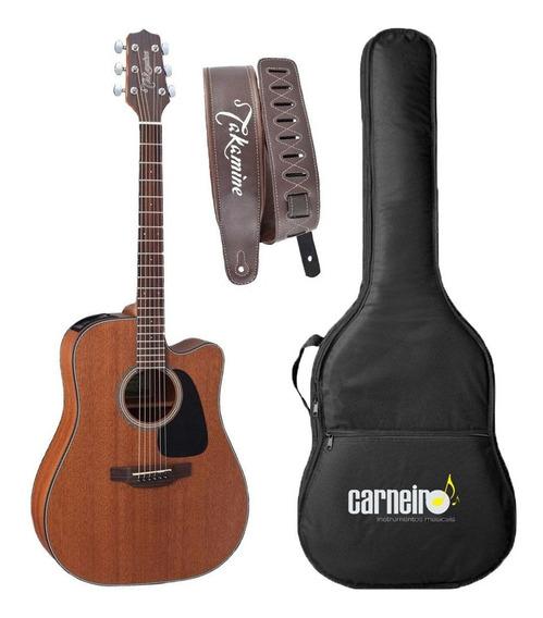 Violão Folk Elétrico Takamine Gd11 Mce + Capa Luxo + Correia