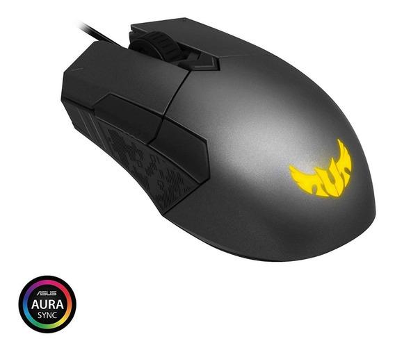 Mouse Gamer Asus Tuf M5 Rgb Optico 6.200 Dpi