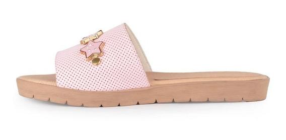 Zuecos Zapatos Chatitas De Mujer De Cuero Bajo Ada - Ferraro