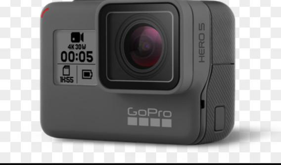Gopro Hero 5 Black Lacrada 4k Garantia Gopro A Prova D