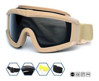 Deportes Al Aire Libre Militar Airsoft Gafas Tácticas Con 3