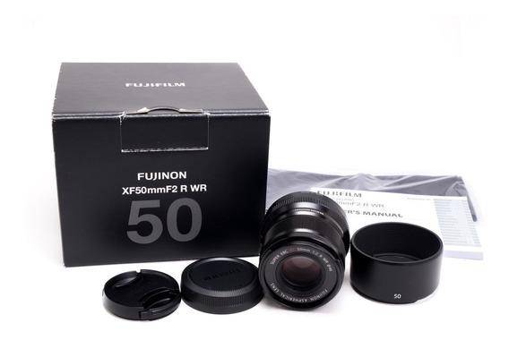 Lente Fujifilm Fujinon Super Ebc Xf 50mm F/2 Wr