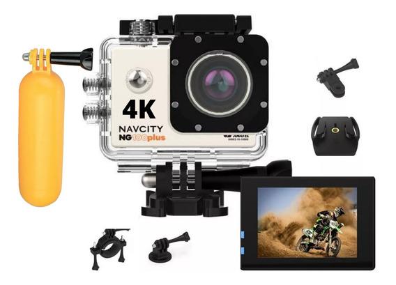 Camera Para Gravar Videos 4k Full Hd Filmadora + Boia Nfe