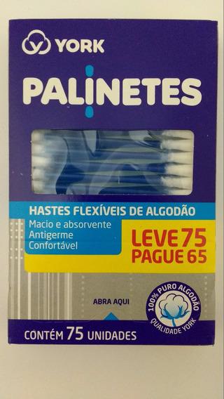 Cotonetes Higienicos Hastes Flexiveis De Algodão Kit C/ 10