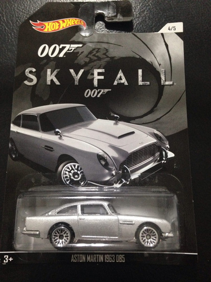 Hot Wheels - Aston Martin Db5 - 1963 - 007 Skyfall - Lacrado