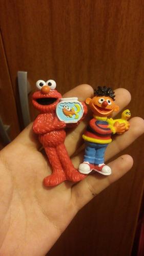 Yh Muñecos Miniatura Elmo Y Beto China Coleccionable