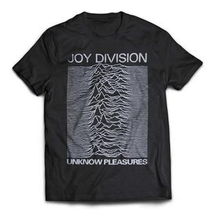 Camiseta Joy Division Unknown Pleasures Rock Activity