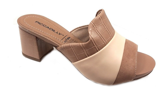 Zapato Piccadilly Zueco Taco 5cm Especial Joanete