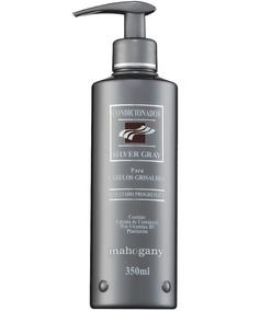 Mahogany Condicionador Silver Gray 350 Ml