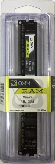 Memoria Desktop Ddr3 8gb 1600mhz Oxy 1.5v