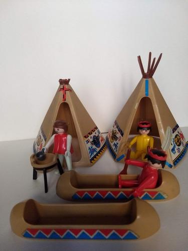 Playmobil Geobra Indios De 1974