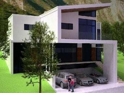 Casa En Venta En Santa Catarina N.l Las Fincas Y Cordillera Valle Pte