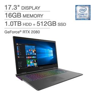 Lenovo Y700 I7 9750h +16gb +1tb+512gb Ssd, Rtx 2080 8gb 17