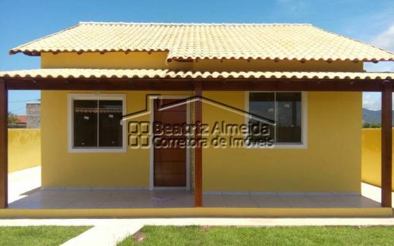 Casa De 2 Quartos Com Terreno De 480m² Em Itaipuaçu