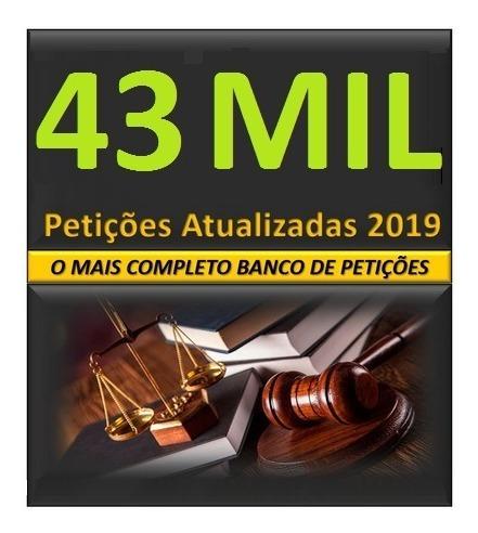 Banco Petições Jurídicas 43000 Multa Trânsito Novo Cpc Oab