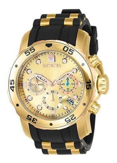 Relógio Invicta 17884 Scuba Pro Diver Original Promo Black