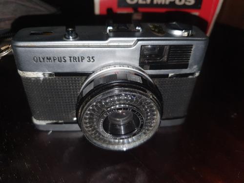 Câmera Fotográfica Olympus Trip 35 Na Caixa