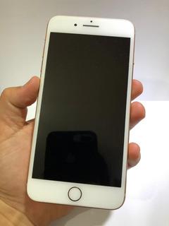 iPhone 8 Plus Rose 64gb Garantia D Fábrica Muito Conservado